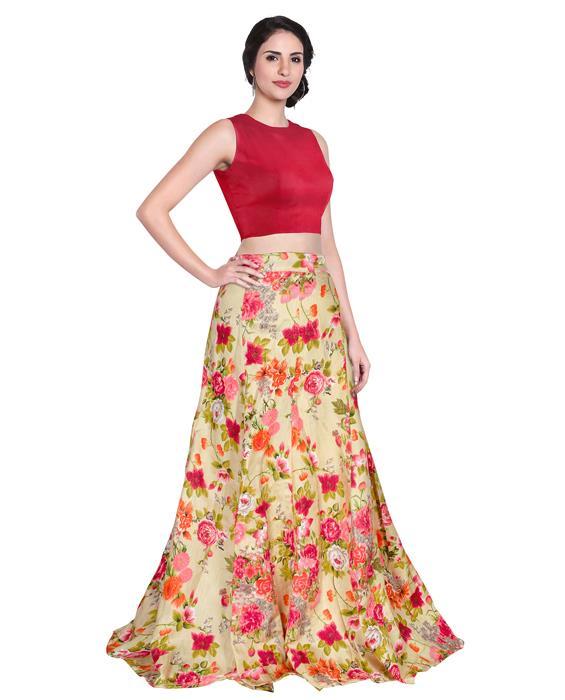 Avadh Pink Designer Lehenga Zyla Fashion