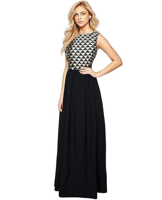 Barbi Black Designer Gown Zyla Fashion