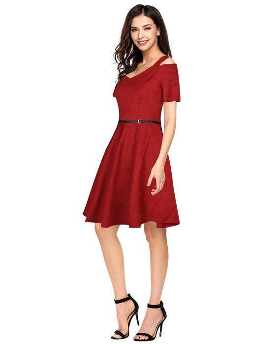 Bollywood Designer Isha Maroon Dress Zyla Fashion