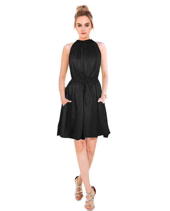 Cruze Designer Black Dress Zyla Fashion
