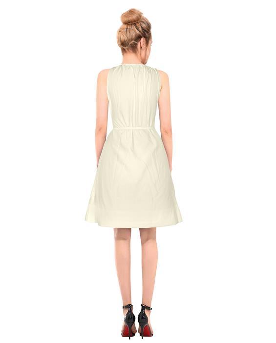 Cruze Designer Ivory Dress Zyla Fashion
