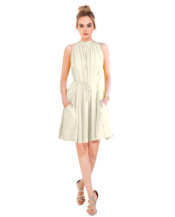 Cruze Designer Ivory Dress Zyla Fashion