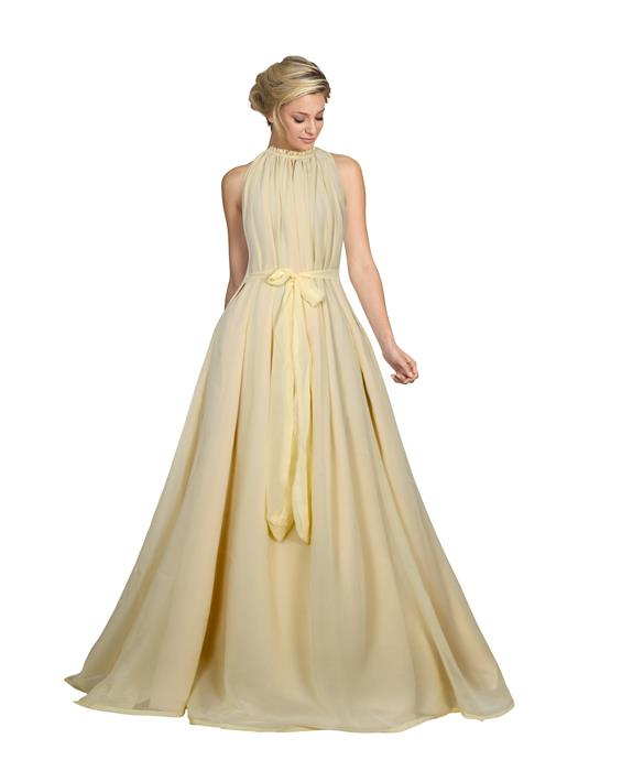 Dyna Cream Designer Gown Zyla Fashion