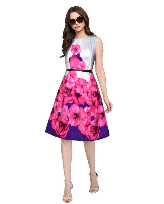 Eliza Designer Pink Dress Zyla Fashion
