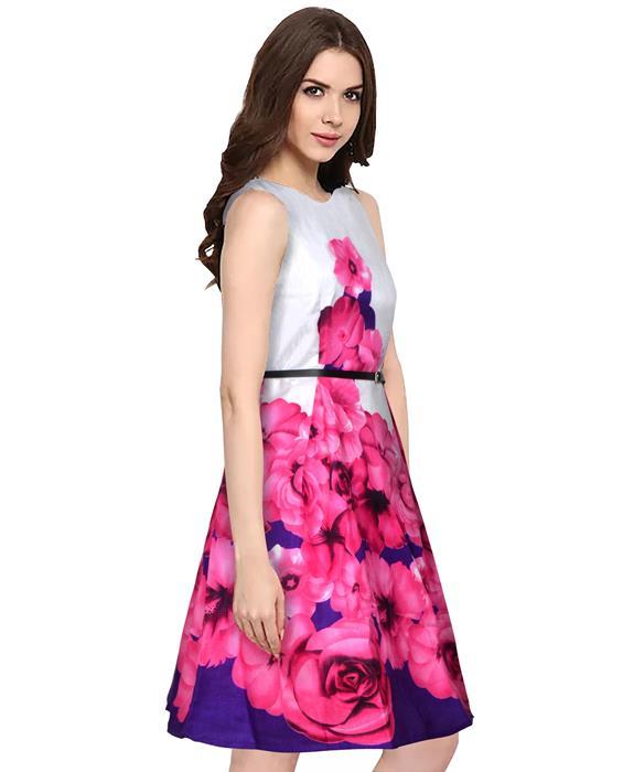Eliza Designer Pink Dress Zyla Fashion