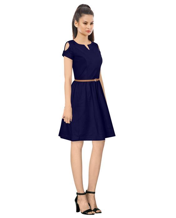Exclusive Blue Isha Designer Dress Zyla Fashion