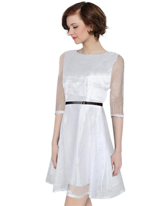 Exclusive Designer Mexican White Dress