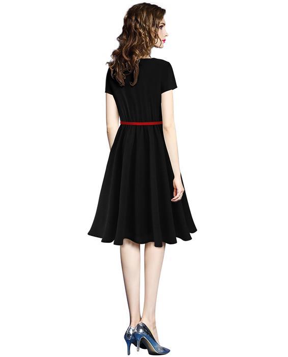 Exclusive Designer New Isha Black Dress Zyla