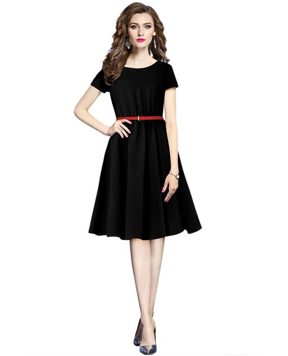 Exclusive Designer New Isha Black Dress Zyla