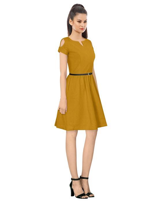 Exclusive Orange Isha Designer Dress Zyla Fashion