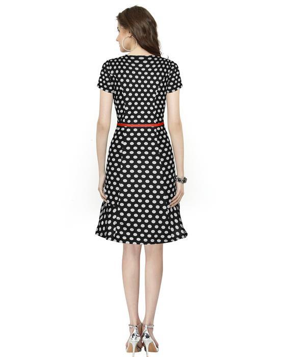 Isha Black Design Dress Zyla Fashion
