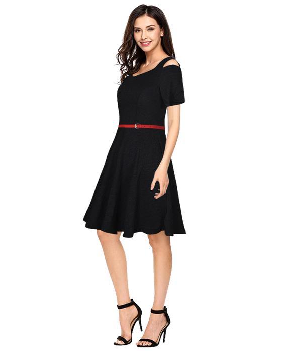 Isha Bollywood Designer Black Dress Zyla