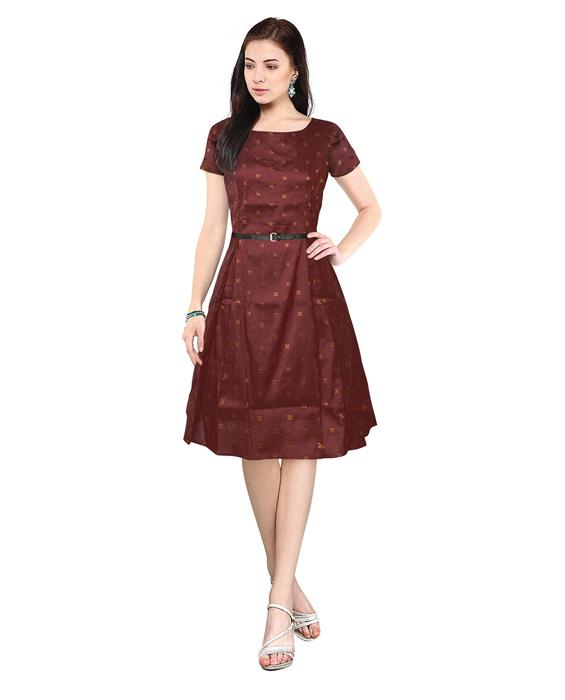 Isha Bollywood Designer Maroon Dress Zyla Fashion