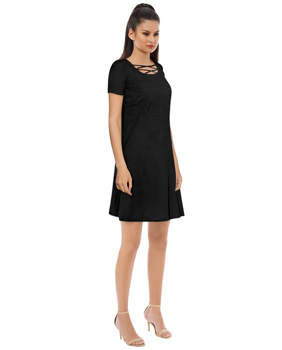 Isha Designer Black Dress Zyla Fashion