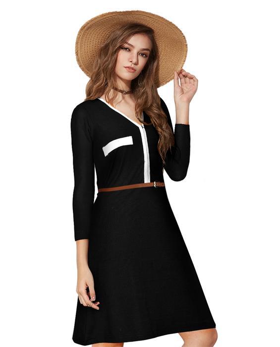 Isha Designer Black Dress Zyla Fashion