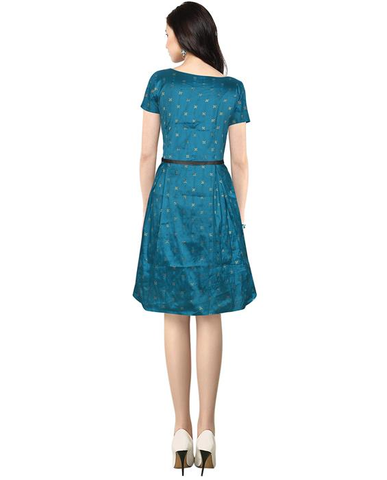 Isha Designer Green Dress Zyla Fashion