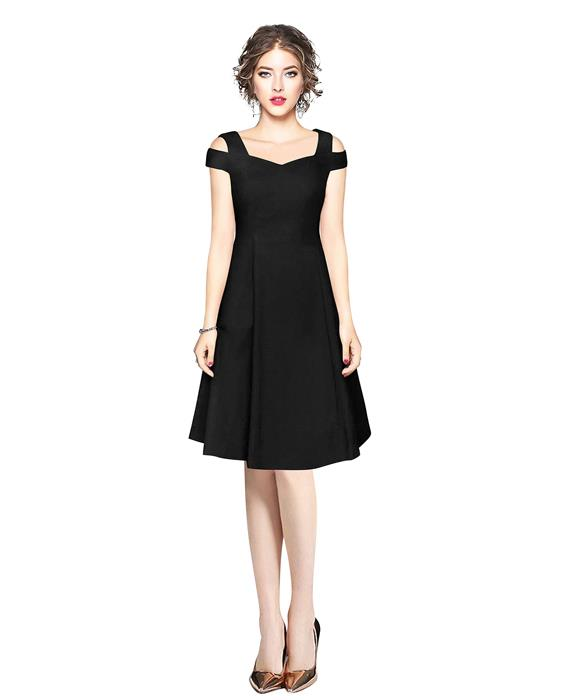 Isha Exclusive Black Designer Dress Zyla Fashion