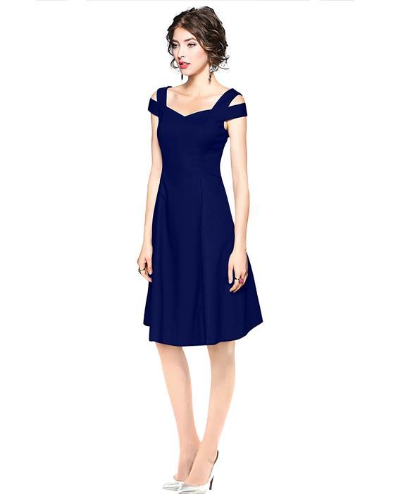 Isha Exclusive Blue Designer Dress Zyla Fashion
