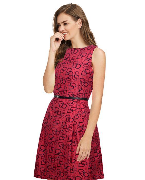 Mentos Exclusive Designer Crimson Dress Zyla