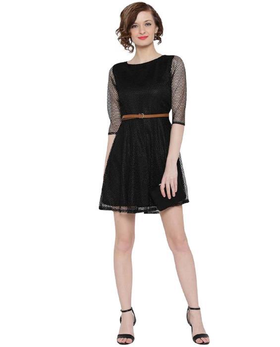 Mexican Black Dress Zyla Fashion