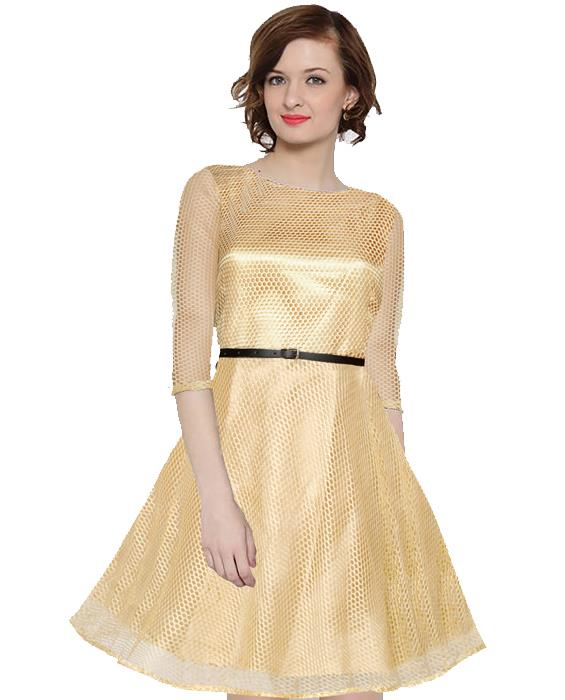 Mexican Goldenrod Dress Zyla Fashion