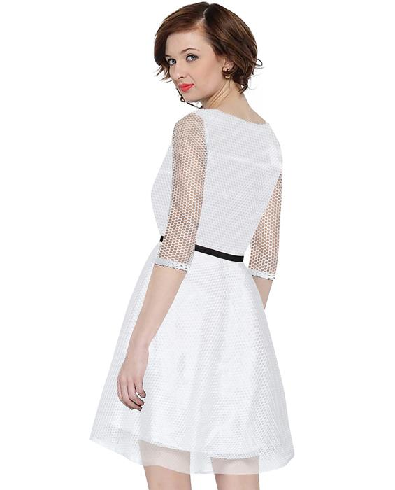Mexican White Dress Zyla Fashion