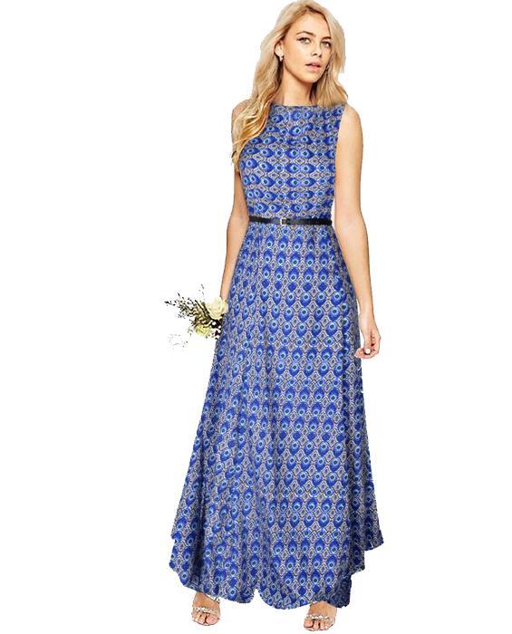 Morpichh Blue Designer Gown Zyla Fashion