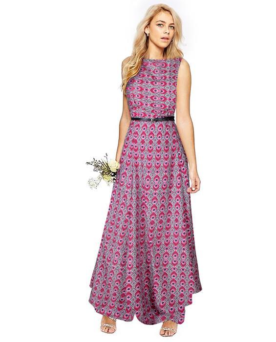 Morpichh Pink Designer Gown Zyla Fashion