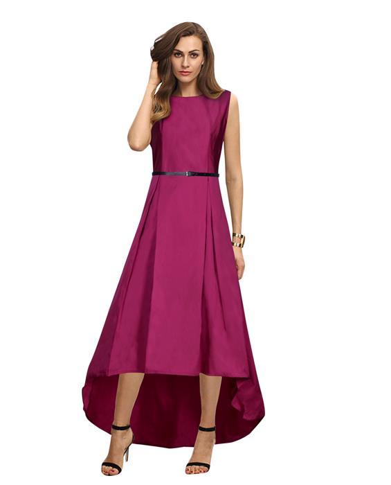 Nitya Rani Pink Designer Gown Zyla Fashion