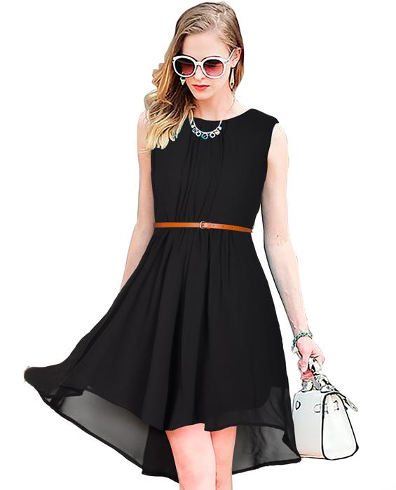 Sydney Designer Black Dress Zyla Fashion