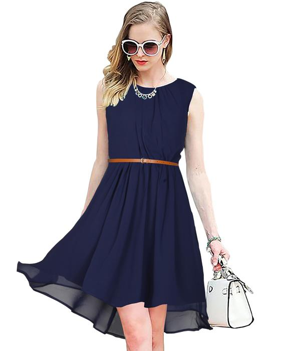 Sydney Designer Blue Dress Zyla Fashion