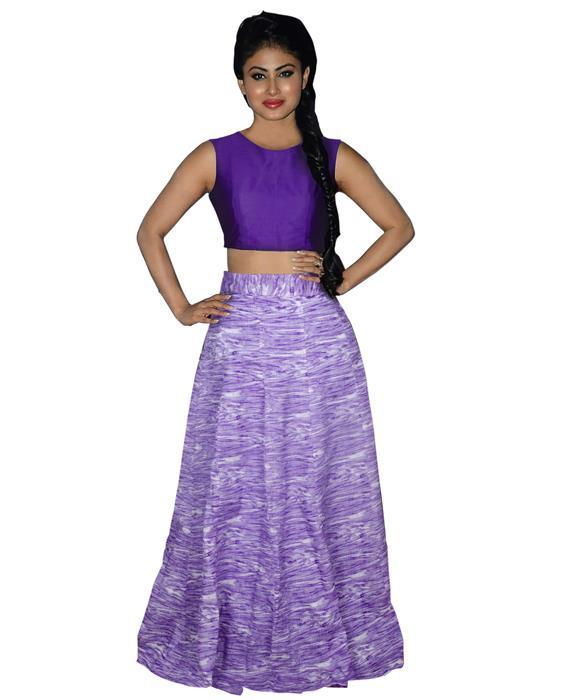 Tapti Purple Designer Lahenga Zyla Fashion