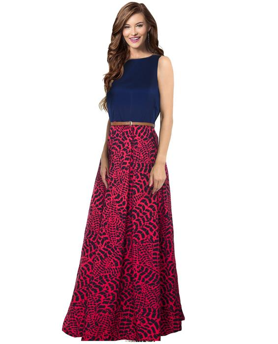 Tiger Gajari Designer Gown Zyla Fashion