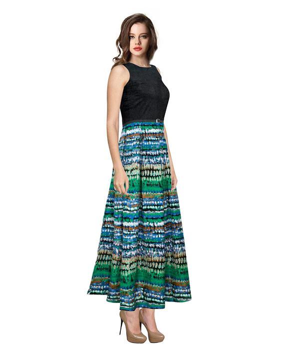 Vista Pista Designer Gown Zyla Fashion