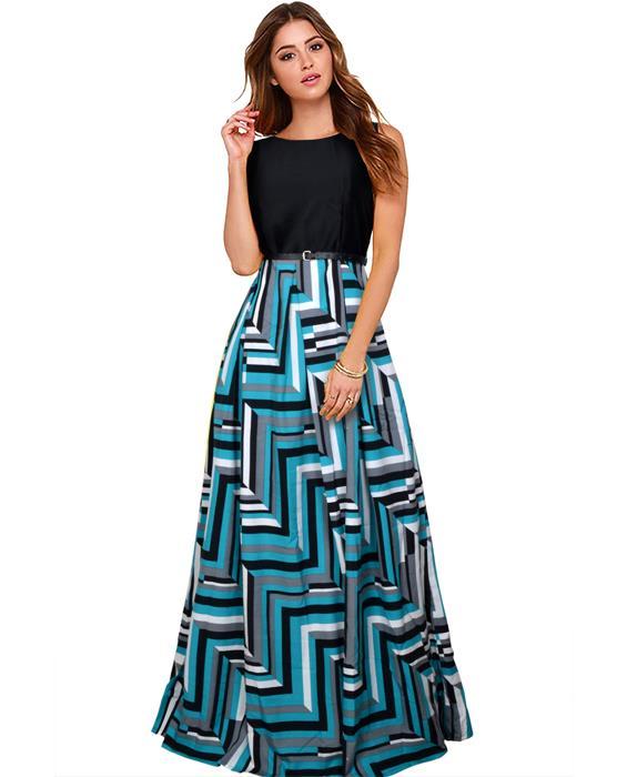 Zorba Sea Green Designer Gowns