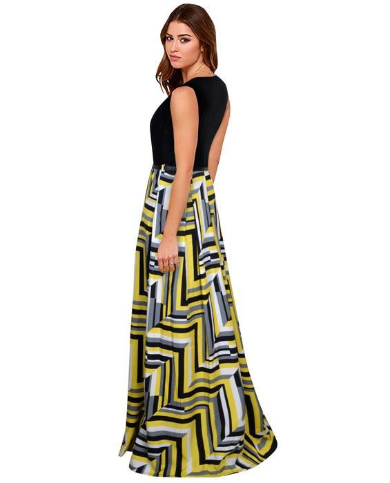 Zorba Yellow Designer Gown Zyla Fashion